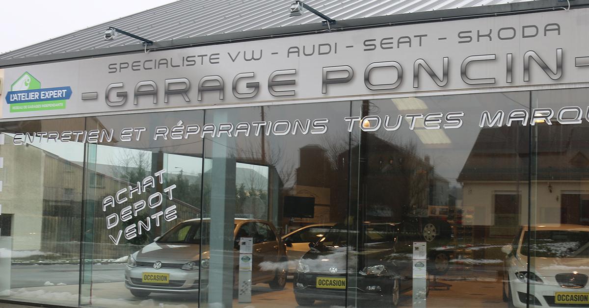 Garage poncin habay shootlux card obtenez des for Garage audi belgique mouscron